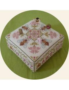 Jardin Privé - Cross stitch pattern - Carré d'Abeilles