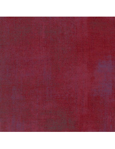 Tissu Patchwork - Grunge - Betterave rouge