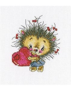 RTO -  Kit point de croix - Kind heart!