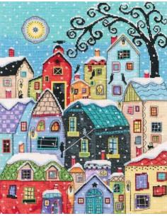 RTO - Kit point de croix - Snow falling