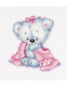 RTO - Kit point de croix - Teddy bear cutie