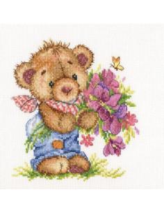 RTO - Kit point de croix - Giving you flowers