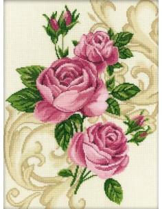 RTO - Kit point de croix - Ornament-Roses