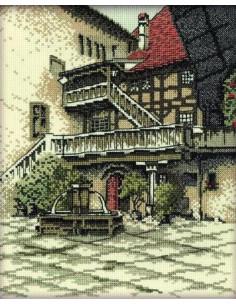 RTO - Kit point de croix - Castle Courtyard