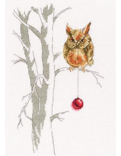 RTO - Cross stitch kit - Waiting for a holiday
