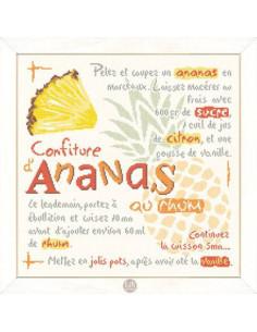 Lili Points - Fiche - Confiture d'ananas au rhum