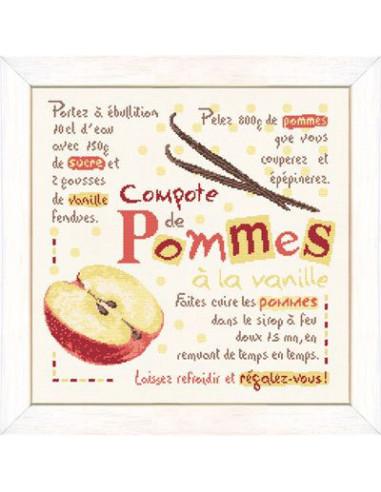 Lili Points - Fiche - La compote de pommes