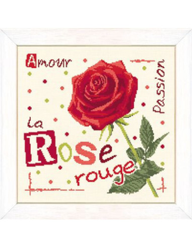 Lili Points - Fiche - La rose rouge