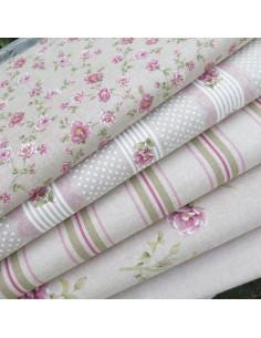 Tissu coton - collection fleurs