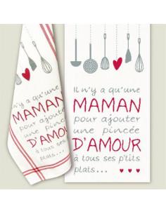 Lili Points - Maman d'amour (grille point de croix)