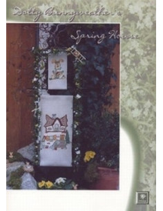 Brochure Stickdesign Dotty Bunnyweather's Spring House