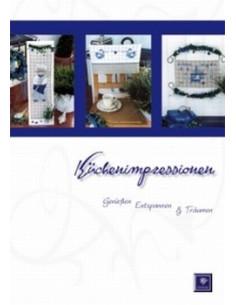 """Livre Stickdesign """"Küchenimpressionen"""""""