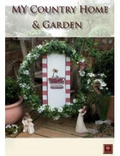 Livre Stickdesign My Country Home & Garden