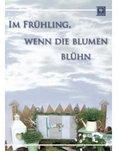Livre Stickdesign Im Frühling, wenn die blumen blühn