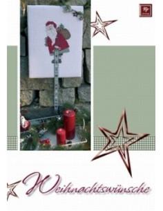 Livre Stickdesign Weihnachtswünsche