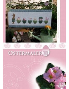Livre Stickdesign Ostermalerei