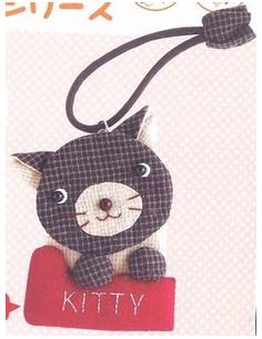 Kit de Patchwork - Porte clé Kitty