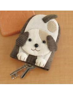 Kit de Patchwork - Porte-clés chien