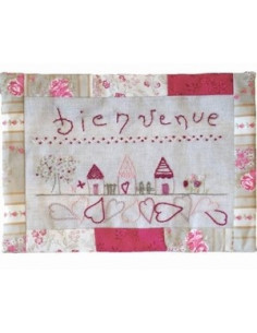 ABC Collection - kit - Bienvenue aux maisons - version rose