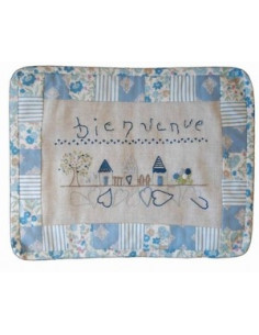 ABC Collection - kit - Bienvenue aux maisons - version bleu
