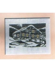 CollecXion du Chalet - Chalet et flocons de neige