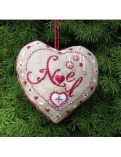 Jour de Lin - Accroche - Coeur Noël