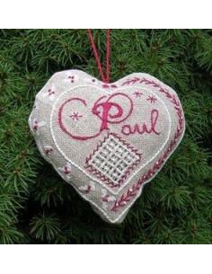 Jour de Lin - Accroche - Coeur Paul