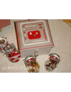 La Boîte à broder - Boîte à boutons