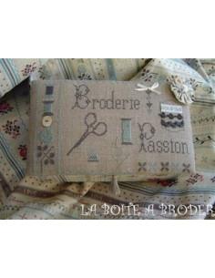 La Boîte à broder - Broderie Passion - SERIE LIMITEE