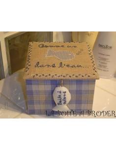 La Boîte à Broder - Comme un poisson