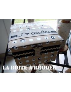La Boîte à Broder - Ma 1ère boîte à couture - noire