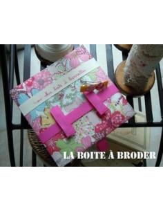 La Boîte à Broder - Ma boîte à barrettes en liberty