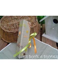 La Boîte à broder - Trousse de brodeuse au jardin