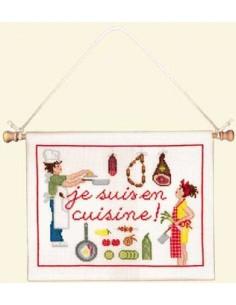 """Le Bonheur des Dames """"Je suis en cuisine"""""""