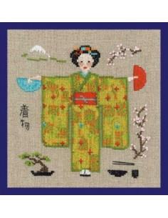 Le Bonheur des Dames - Kimono vert