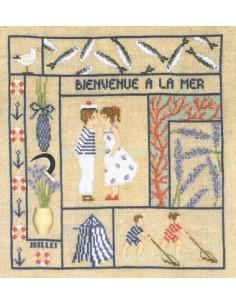 """Le Bonheur des Dames """"Bienvenue - Juillet"""""""