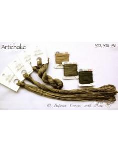 Fil Nina's Threads - coton mouliné - Artichoke