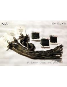 Fil Nina's Threads - coton mouliné - Bark