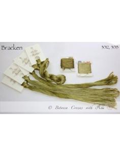 Fil Nina's Threads - coton mouliné - Bracken