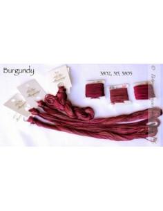 Fil Nina's Threads - coton mouliné - Burgundy