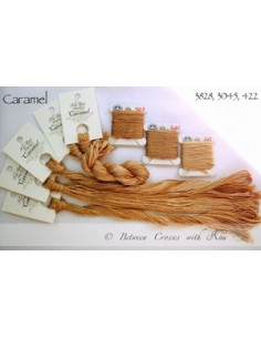 Fil Nina's Threads - coton mouliné - Caramel