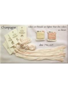 Fil Nina's Threads - coton mouliné - Champagne