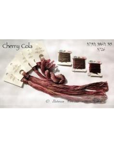 Fil Nina's Threads - coton mouliné - Cherry Cola
