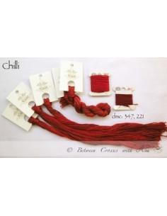 Fil Nina's Threads - coton mouliné - Chilli