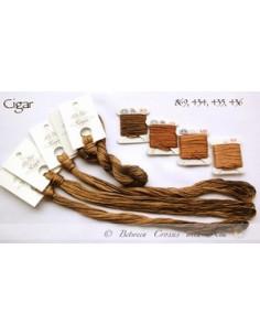 Fil Nina's Threads - coton mouliné - Cigar