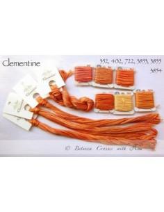 Fil Nina's Threads - coton mouliné - Clementine
