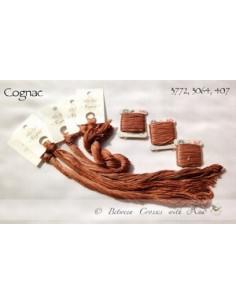 Fil Nina's Threads - coton mouliné - Cognac