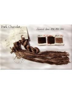 Fil Nina's Threads - coton mouliné - Dark Chocolat