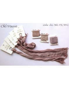 Fil Nina's Threads - coton mouliné - Old Mauve