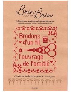 Brin par Brin - Citation de brodeuse N°9